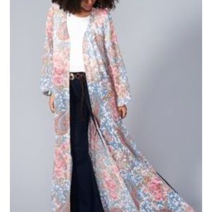 SMYM paisley duster